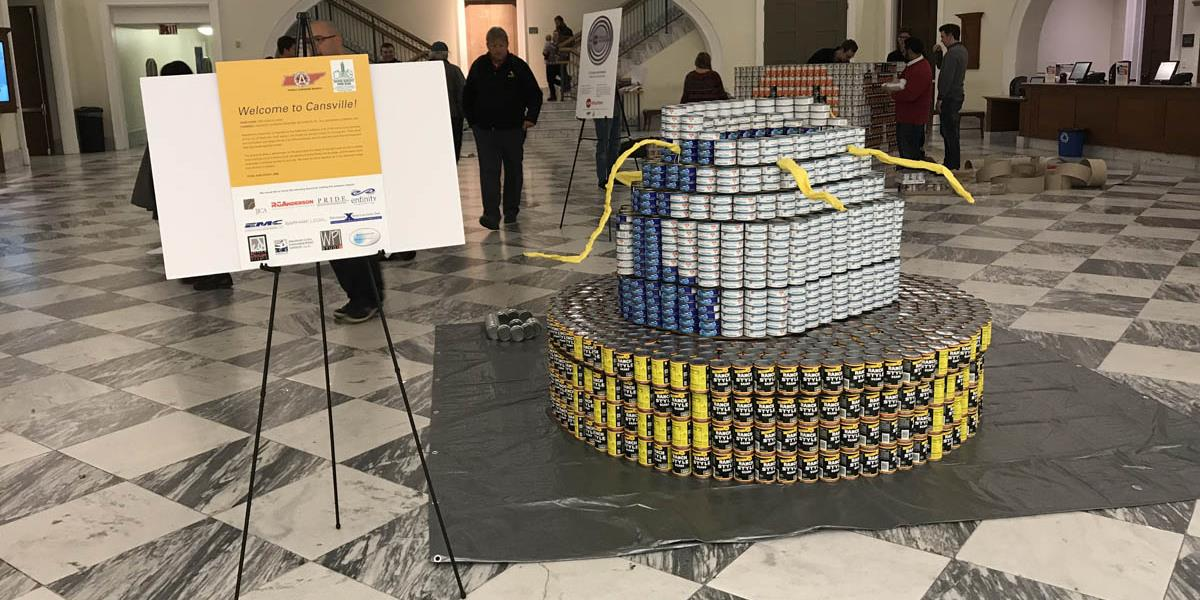 JJCA Canstruction Entry